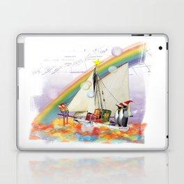 Penguins to South Pole Laptop & iPad Skin