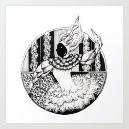 circus chic Art Print