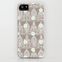Gypsy Lace in Neutral iPhone Case