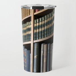 Books, lots of books Travel Mug