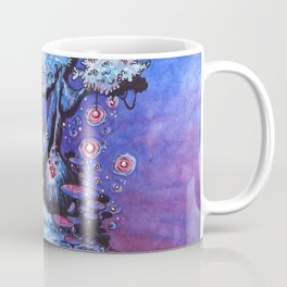 Ninja and the tree of lights Coffee Mug