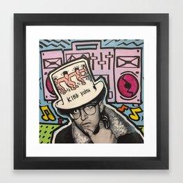 KING KEITH Framed Art Print
