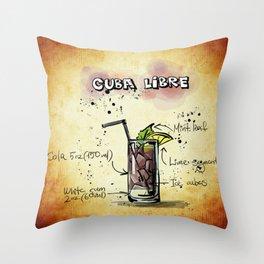 Cuba_Libre_by_JAMFoto Throw Pillow