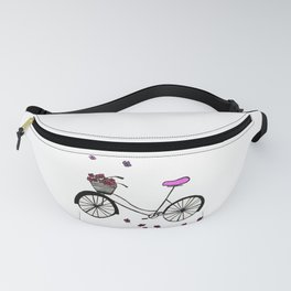 Bicycle illustration Fanny Pack