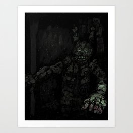 Fazbears Fright Art Print