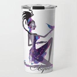 Starlight Aquarius Travel Mug