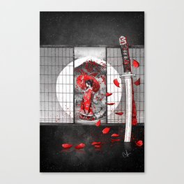 The waiting Canvas Print