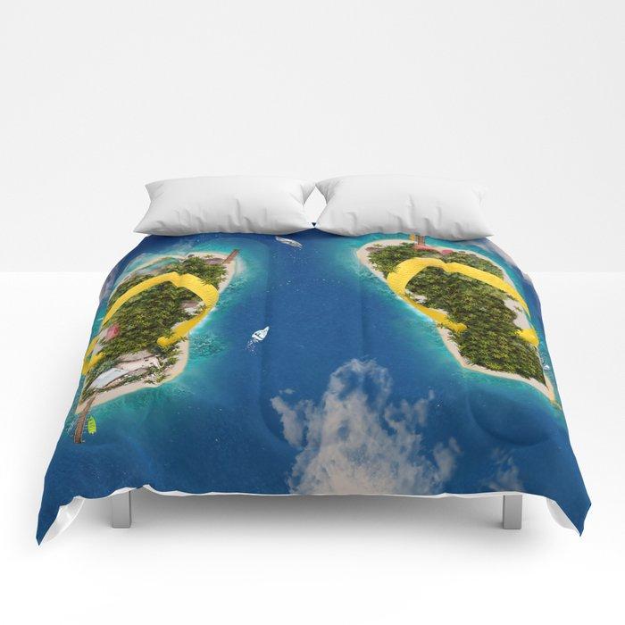 Flip Flop Islands Comforters