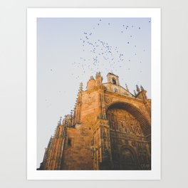 El Convento de San Esteban Art Print