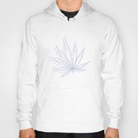 weed Hoodies featuring weed by Estelle F