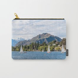 Sailboat Race on Lake Wanaka Carry-All Pouch