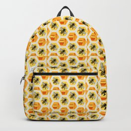honeycomb pattern  Backpack