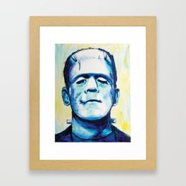 Let's Be Frank Framed Art Print