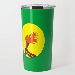 Zaire Congo country flag Travel Mug