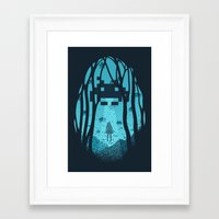 8 bit Framed Art Prints featuring 8 Bit Invasion by filiskun