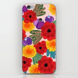 Romance Blooms-Pink iPhone Skin