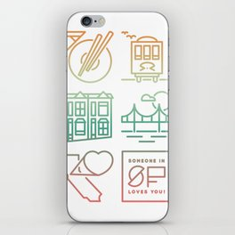 Someone Loves You: San Francisco iPhone Skin