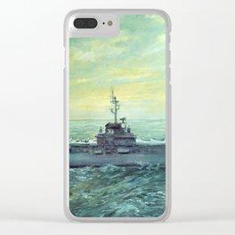 USS Kearsarge Clear iPhone Case