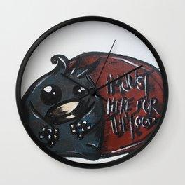 Mugshots: Hans Wall Clock
