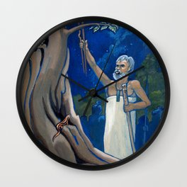 Night Rituals Wall Clock