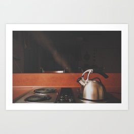 Steamy Art Print