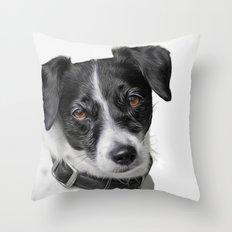 Kashi in B&W Throw Pillow