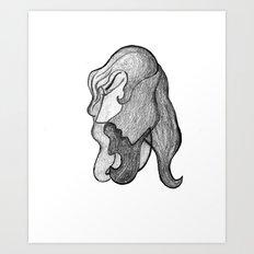 Gray Art Print