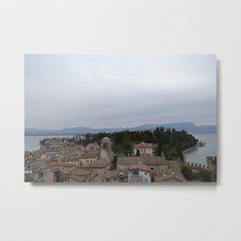 Italian Peninsula  Metal Print