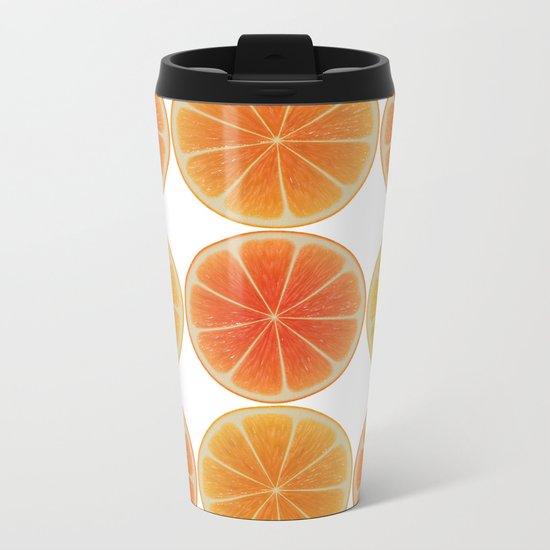 Oranges oranges Metal Travel Mug