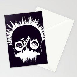 MTB Skull Stationery Cards