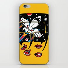 Let's talk about spaceships iPhone & iPod Skin