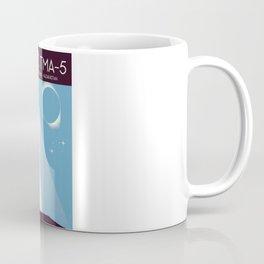 Soyuz TMA-5 Space Art Coffee Mug
