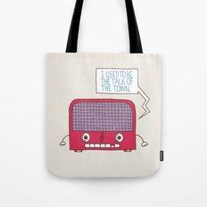 Radio Static Tote Bag