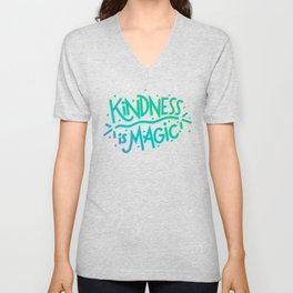 Kindness is Magic Unisex V-Neck