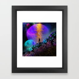In Space, No One Can Hear You... Framed Art Print