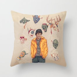 Sylartichot, version no.2 Throw Pillow
