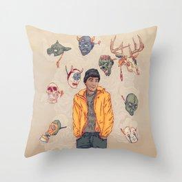 Sylartichot, version no.2 Throw Pillow