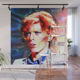 David (A Fractal Portrait) Wall Mural
