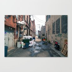 Alley Trash - Pittsburgh Canvas Print