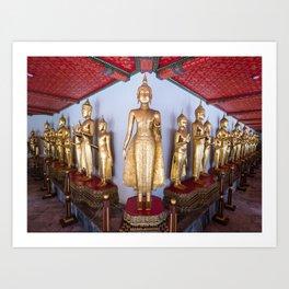 Wat Pho, Bangkok, Thailand Art Print