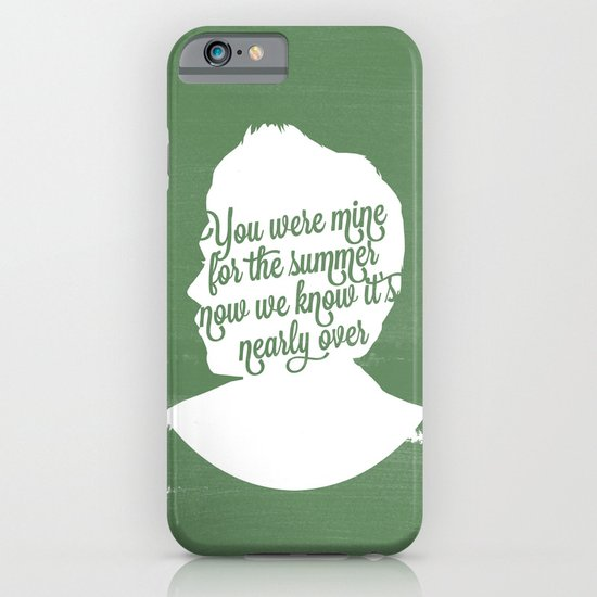 niall horan silhouette iphone amp ipod case by holly ent