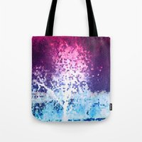 mosaic Tote Bags featuring MOSAIC by VIAINA
