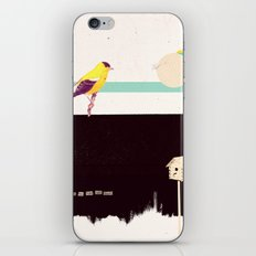 When the night falls quiet. iPhone & iPod Skin
