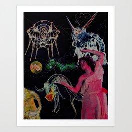 Biology of... Art Print