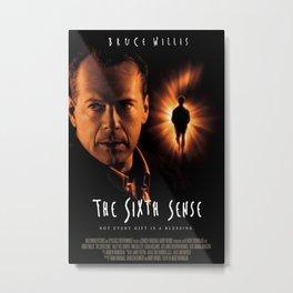 1999 The Sixth Sense - Movie Film Poster Print Metal Print