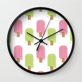 Popopsicle Wall Clock