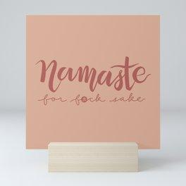 Namaste FFS - Coralish Mini Art Print