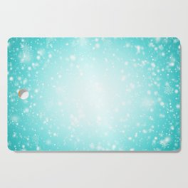 Snowing in the sky Cutting Board