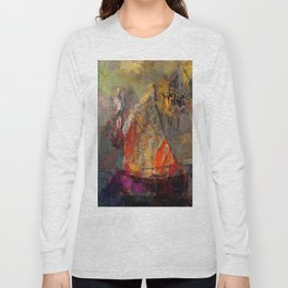 "Odilon Redon ""A Boat"" Long Sleeve T-shirt"