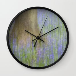 The Bluebell Wood, Norwich Wall Clock